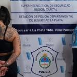 """""""La Lali anda a los tiros"""": una temible dealer de La Plata fue denunciada por sus vecinos"""